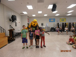 Digger Dog visits Freemans Mill Elementary school in Gwinnett County!