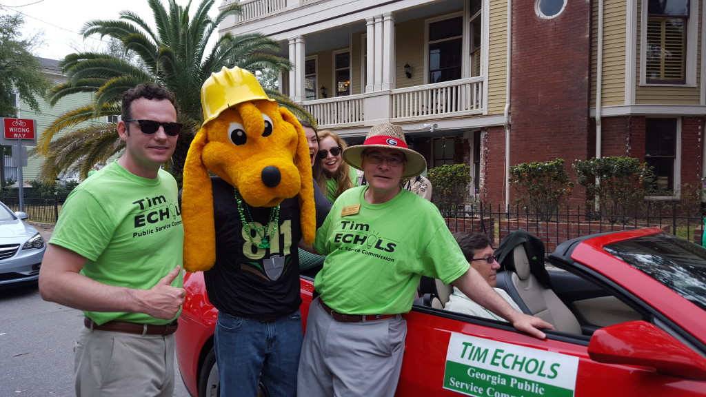 Digger Dog with Tim Echols , The Georgia Public Services Commissioner and his family