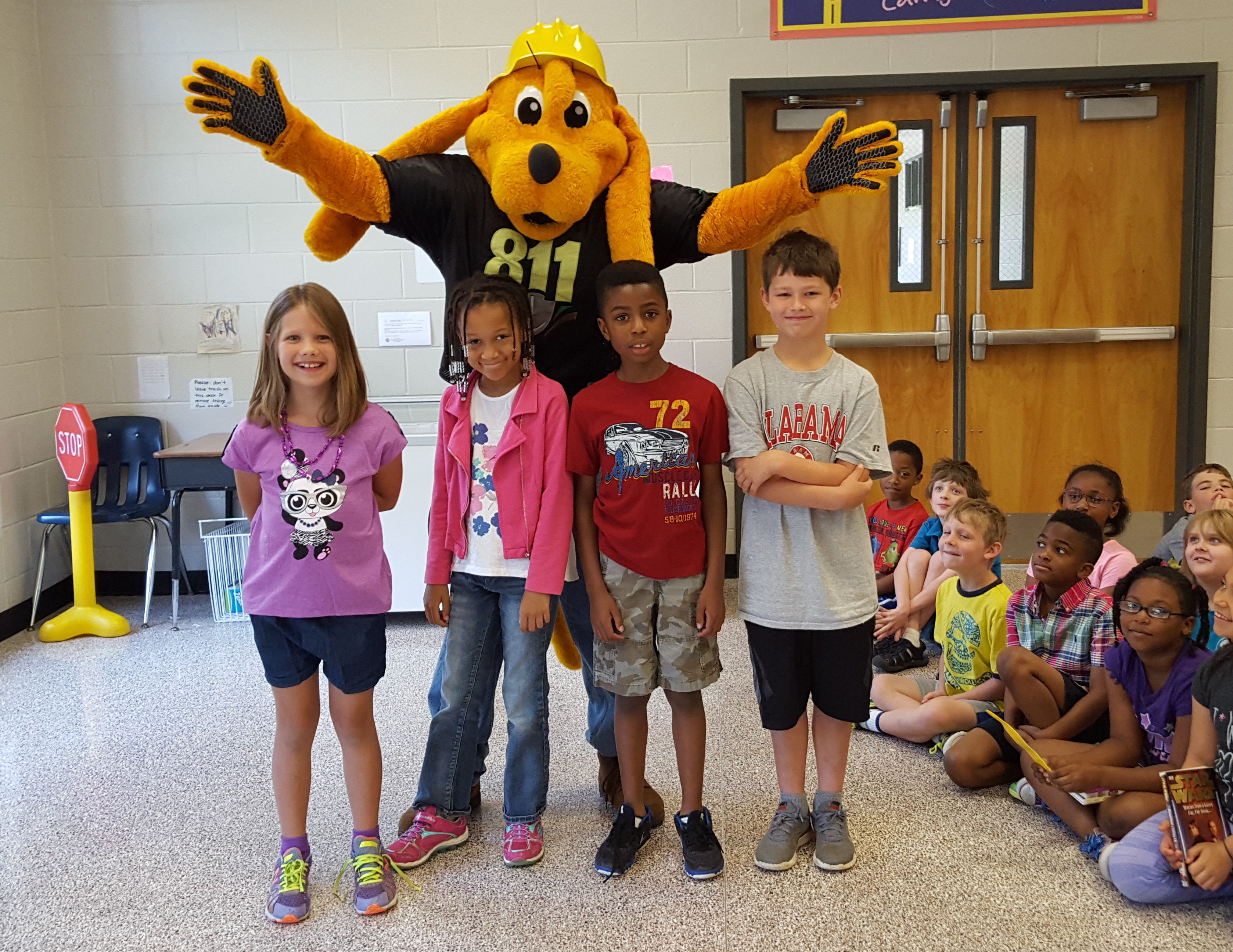 City Of Lawrenceville Gas >> Digger with City of Buford Gas visits Freeman's Mill Elementary – Digger Dog