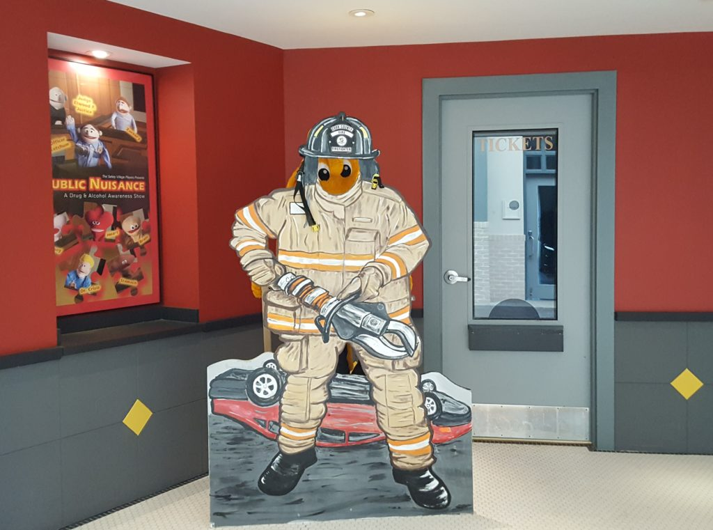 Digger as a Fire Fighter!